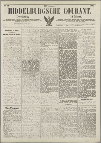 Middelburgsche Courant 1901-03-14