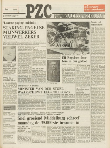 Provinciale Zeeuwse Courant 1974-02-05