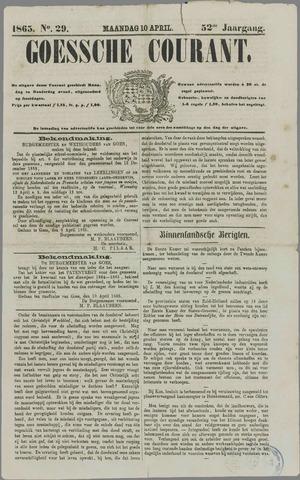 Goessche Courant 1865-04-10