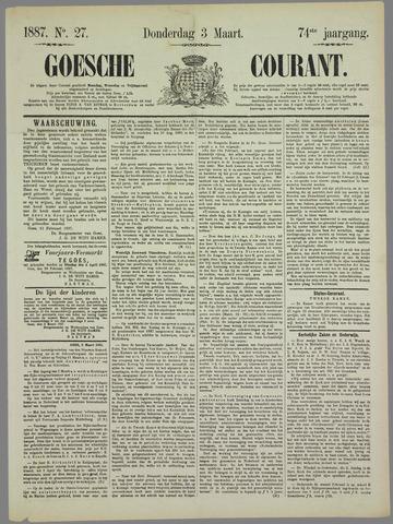 Goessche Courant 1887-03-03