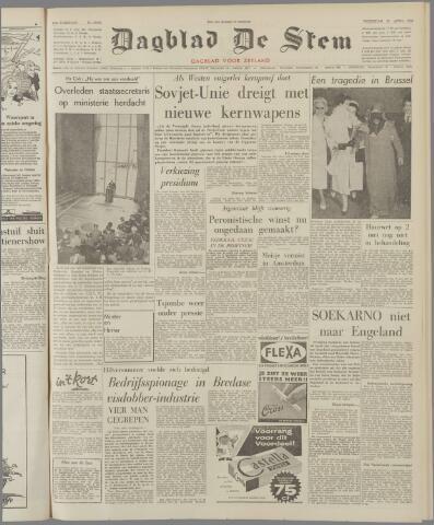 de Stem 1962-04-25