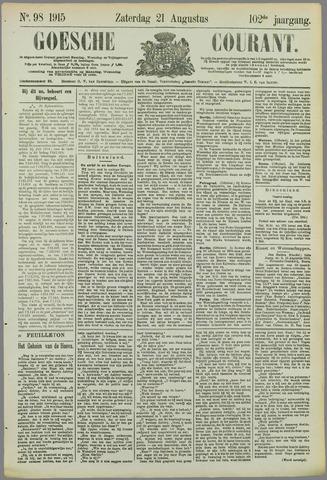 Goessche Courant 1915-08-21