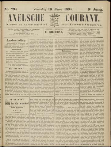 Axelsche Courant 1894-03-10
