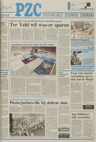 Provinciale Zeeuwse Courant 1992-07-20