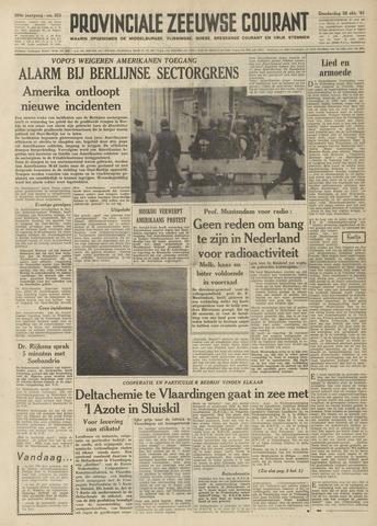 Provinciale Zeeuwse Courant 1961-10-26