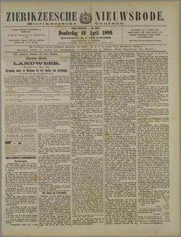 Zierikzeesche Nieuwsbode 1906-04-19