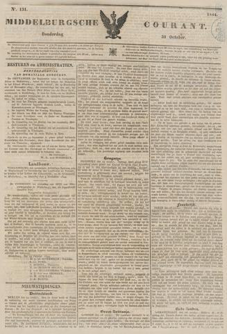 Middelburgsche Courant 1844-10-31