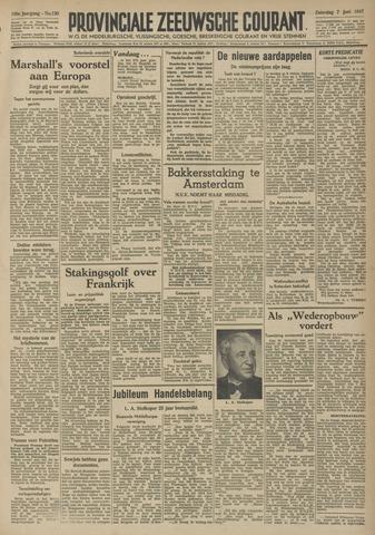 Provinciale Zeeuwse Courant 1947-06-07