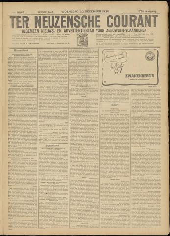 Ter Neuzensche Courant. Algemeen Nieuws- en Advertentieblad voor Zeeuwsch-Vlaanderen / Neuzensche Courant ... (idem) / (Algemeen) nieuws en advertentieblad voor Zeeuwsch-Vlaanderen 1936-12-30