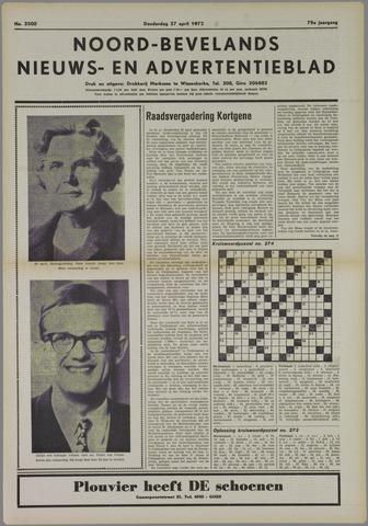 Noord-Bevelands Nieuws- en advertentieblad 1972-04-27
