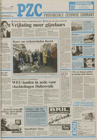 Provinciale Zeeuwse Courant 1991-11-19