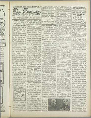 De Zeeuw. Christelijk-historisch nieuwsblad voor Zeeland 1943-12-18