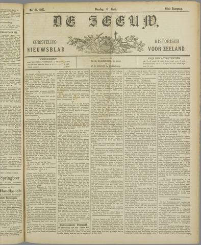 De Zeeuw. Christelijk-historisch nieuwsblad voor Zeeland 1897-04-06