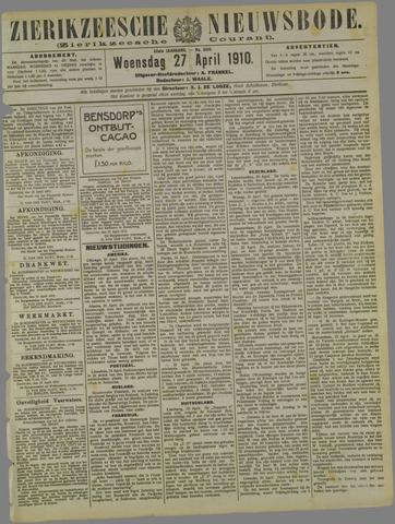 Zierikzeesche Nieuwsbode 1910-04-27