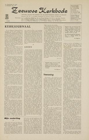 Zeeuwsche kerkbode, weekblad gewijd aan de belangen der gereformeerde kerken/ Zeeuwsch kerkblad 1964-01-31