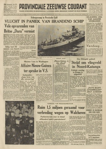 Provinciale Zeeuwse Courant 1961-04-10