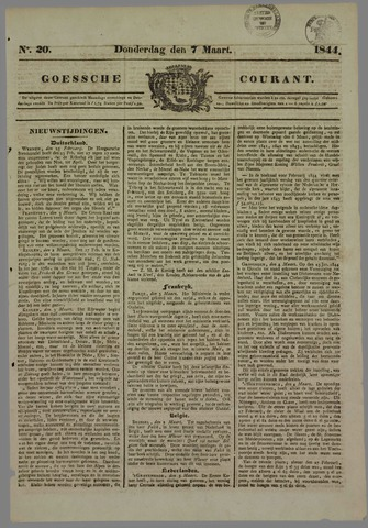 Goessche Courant 1844-03-07