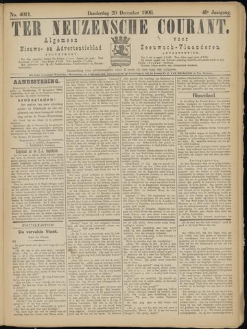 Ter Neuzensche Courant. Algemeen Nieuws- en Advertentieblad voor Zeeuwsch-Vlaanderen / Neuzensche Courant ... (idem) / (Algemeen) nieuws en advertentieblad voor Zeeuwsch-Vlaanderen 1900-12-20