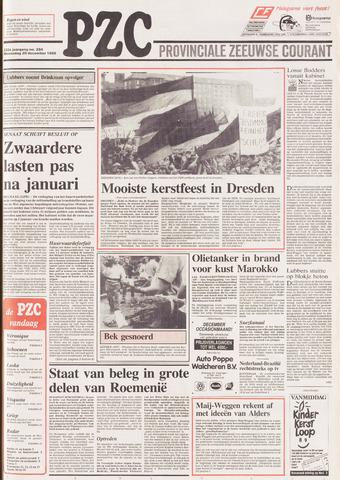 Provinciale Zeeuwse Courant 1989-12-20