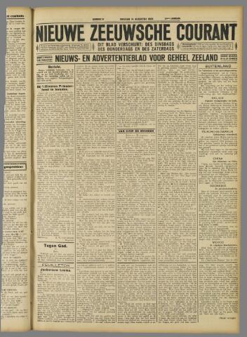 Nieuwe Zeeuwsche Courant 1928-08-14
