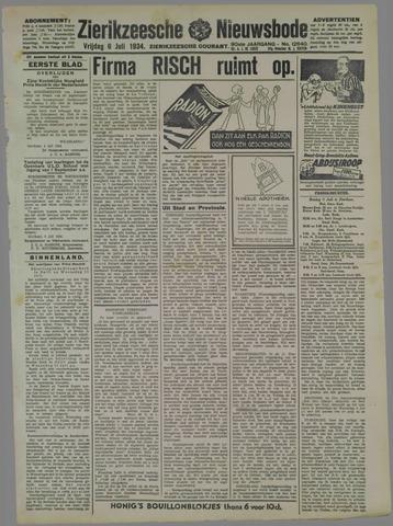 Zierikzeesche Nieuwsbode 1934-07-06