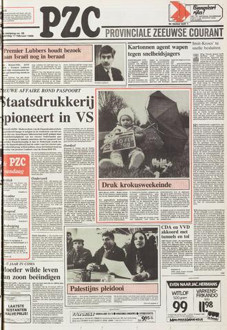 Provinciale Zeeuwse Courant 1988-02-11