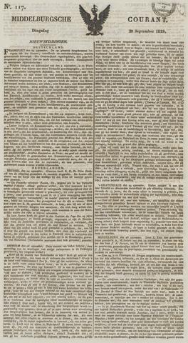 Middelburgsche Courant 1829-09-29
