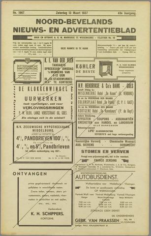 Noord-Bevelands Nieuws- en advertentieblad 1937-03-13