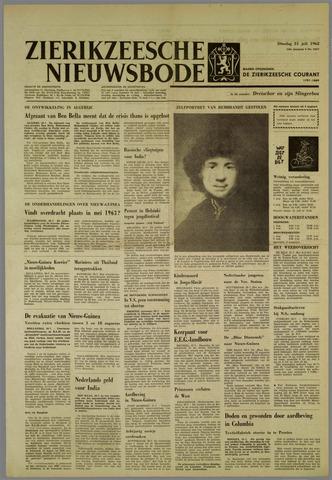 Zierikzeesche Nieuwsbode 1962-07-31