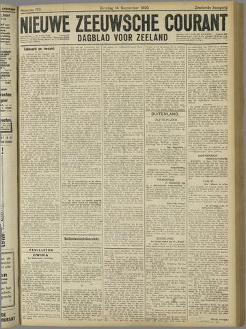 Nieuwe Zeeuwsche Courant 1920-09-14