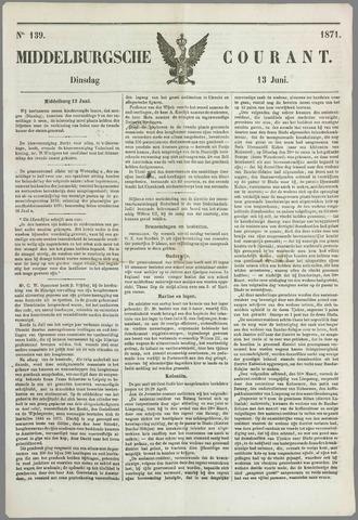 Middelburgsche Courant 1871-06-13