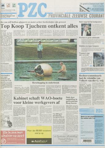 Provinciale Zeeuwse Courant 2002-09-07