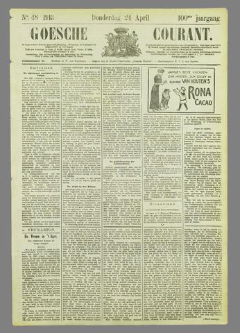 Goessche Courant 1913-04-24