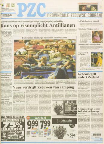 Provinciale Zeeuwse Courant 2003-07-30