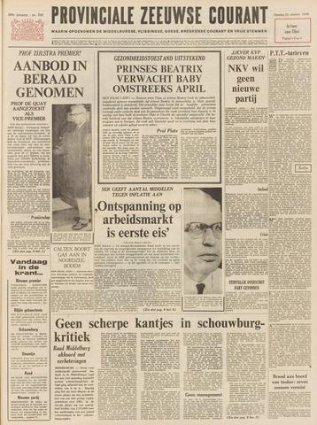 Provinciale Zeeuwse Courant 1966-10-25