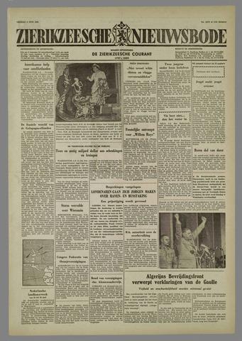 Zierikzeesche Nieuwsbode 1958-06-06