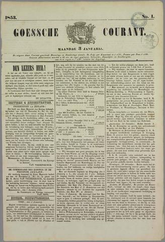 Goessche Courant 1853