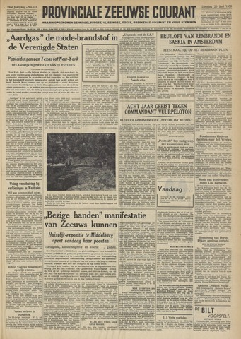 Provinciale Zeeuwse Courant 1950-06-20