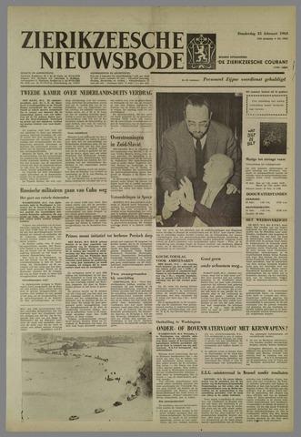Zierikzeesche Nieuwsbode 1963-02-21