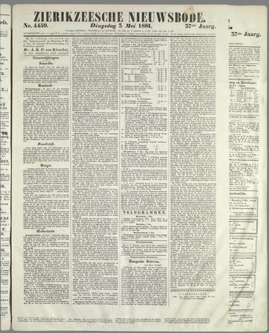 Zierikzeesche Nieuwsbode 1881-05-03