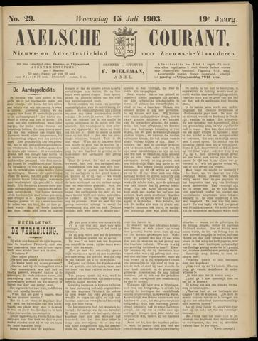 Axelsche Courant 1903-07-15