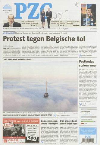 Provinciale Zeeuwse Courant 2010-11-17