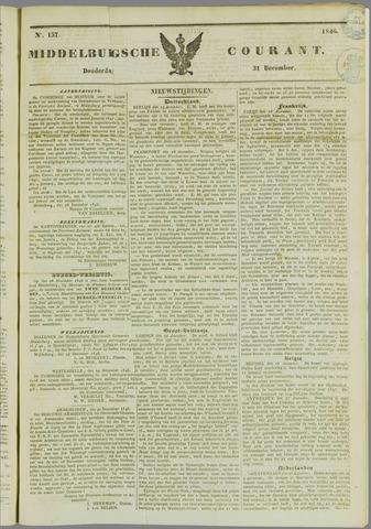 Middelburgsche Courant 1846-12-31