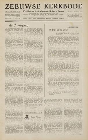 Zeeuwsche kerkbode, weekblad gewijd aan de belangen der gereformeerde kerken/ Zeeuwsch kerkblad 1959-01-09