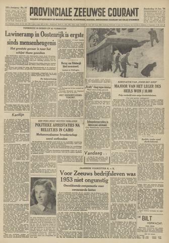 Provinciale Zeeuwse Courant 1954-01-14