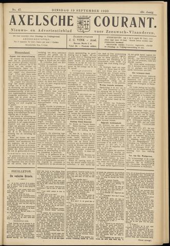 Axelsche Courant 1933-09-19