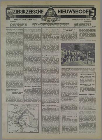 Zierikzeesche Nieuwsbode 1942-10-23