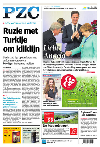 Provinciale Zeeuwse Courant 2016-04-22