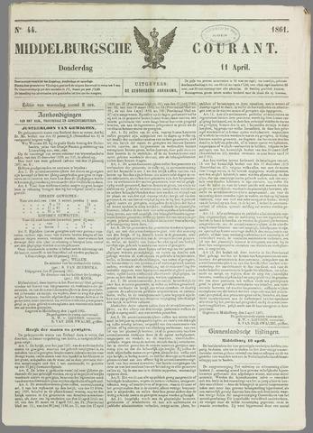Middelburgsche Courant 1861-04-11