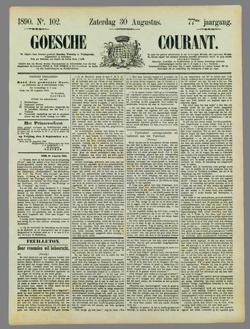Goessche Courant 1890-08-30
